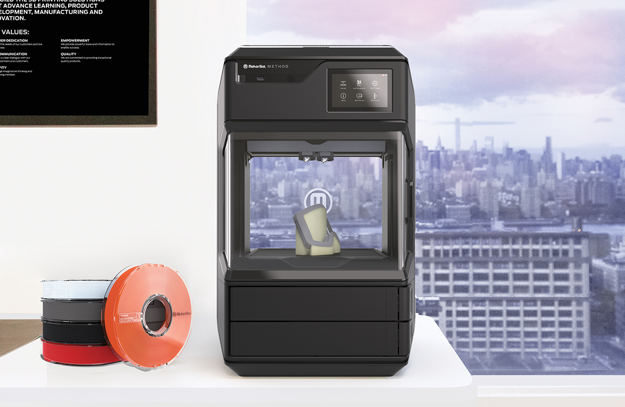 MakerBot launches Method the first performance 3D printer