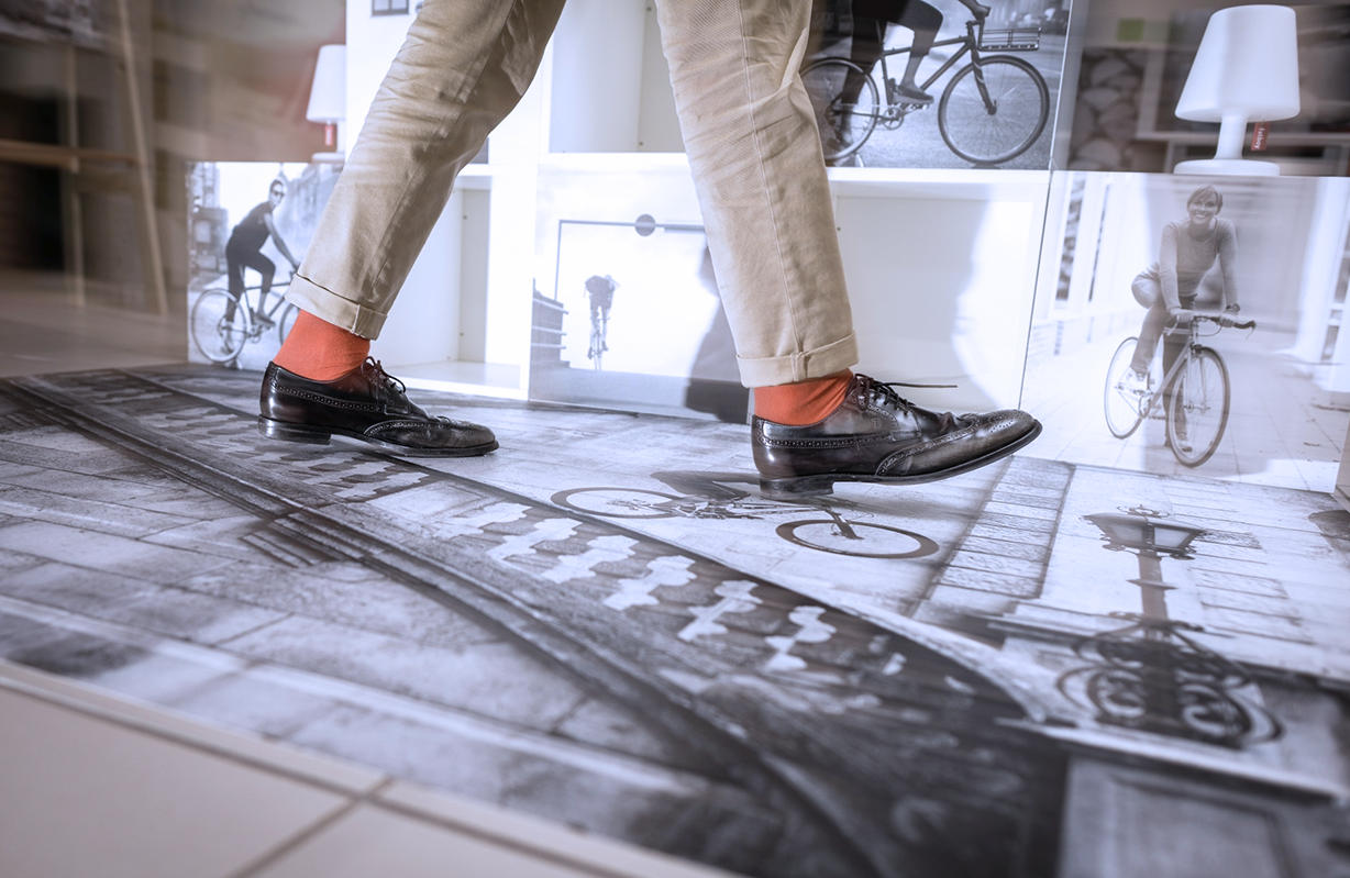 Underestimated Advertising Space - Implementing Floor Graphics Made Easy