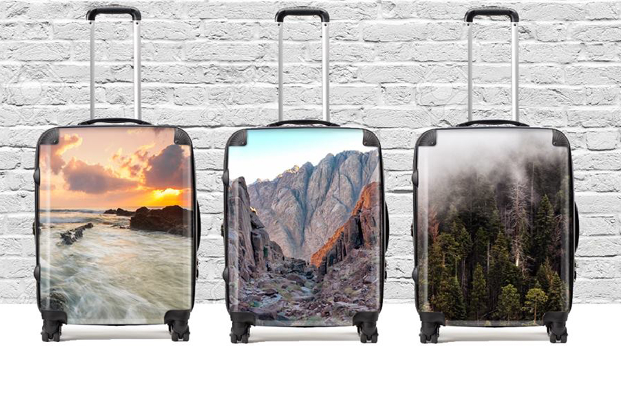 Personalised Luggage set to fly with new low-ink HP DesignJet printer
