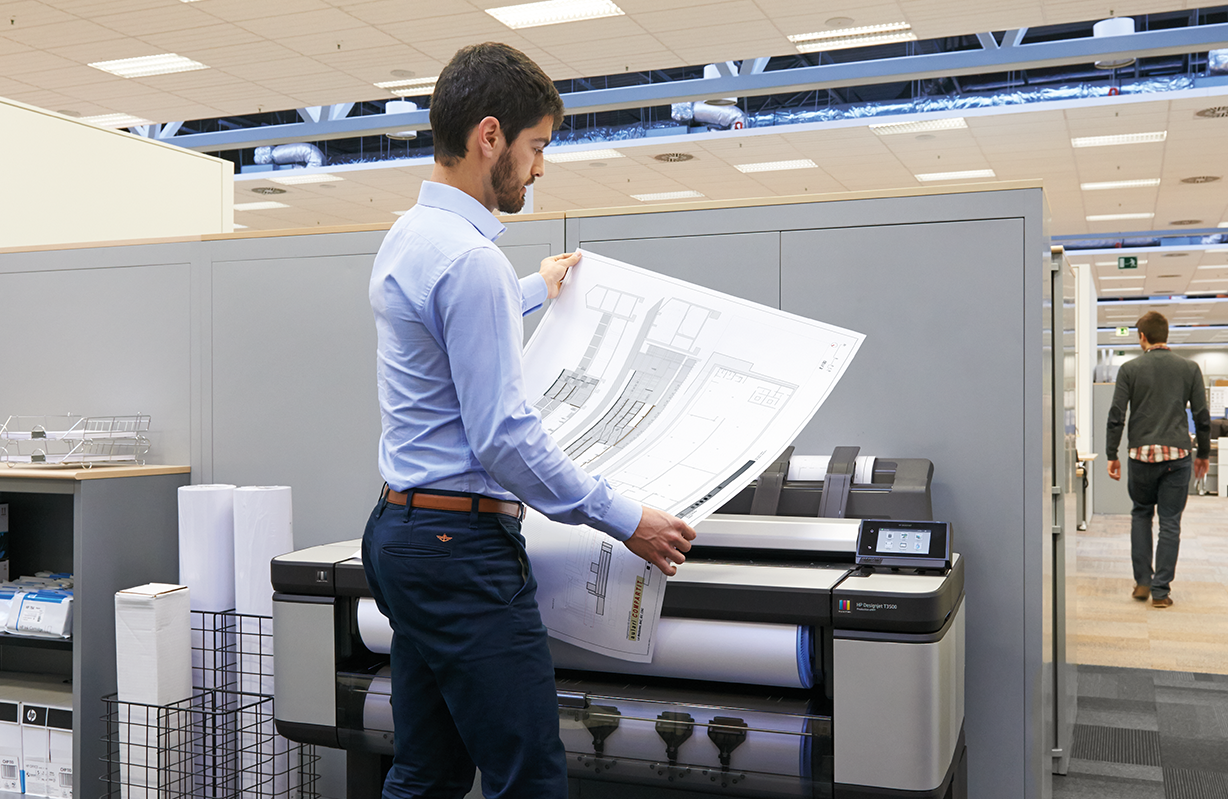 HP DesignJet T3500 eMultifunction Printer