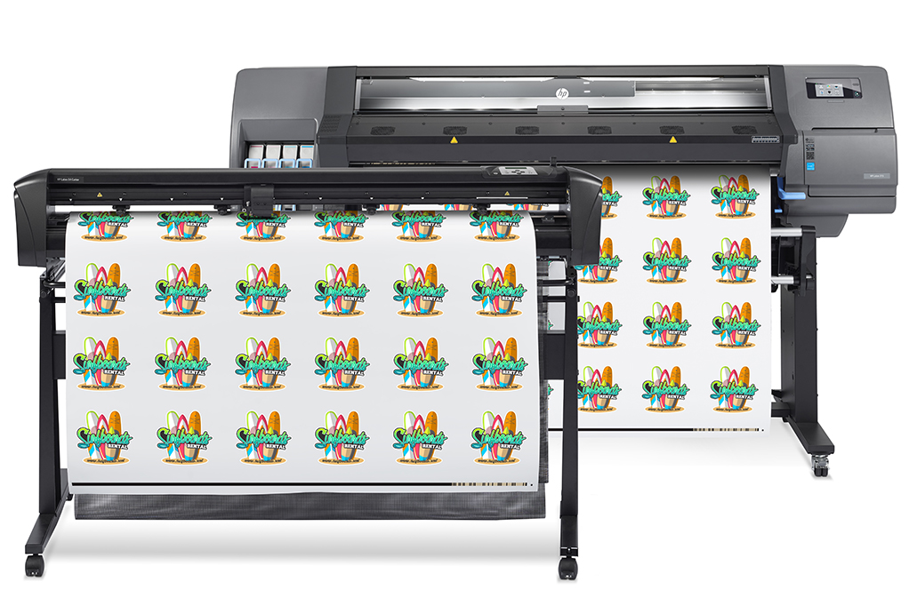 HP Latex 115 Print and Cut Solution