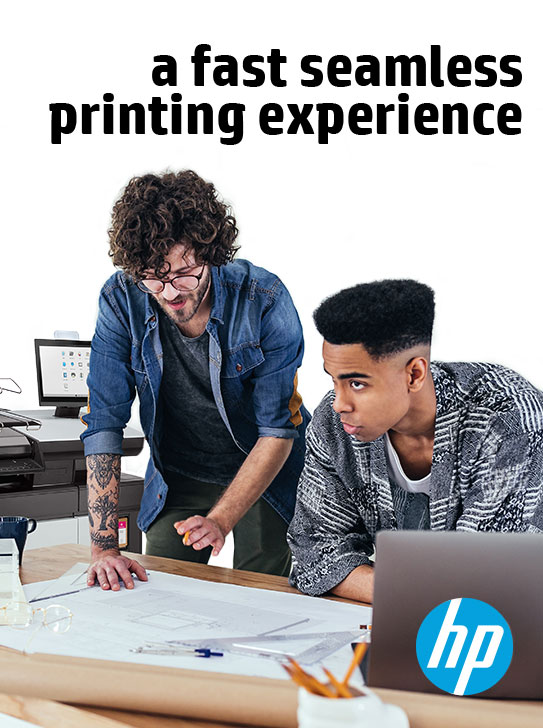 HP PageWide XL 4200 - a fast seamless printing experience