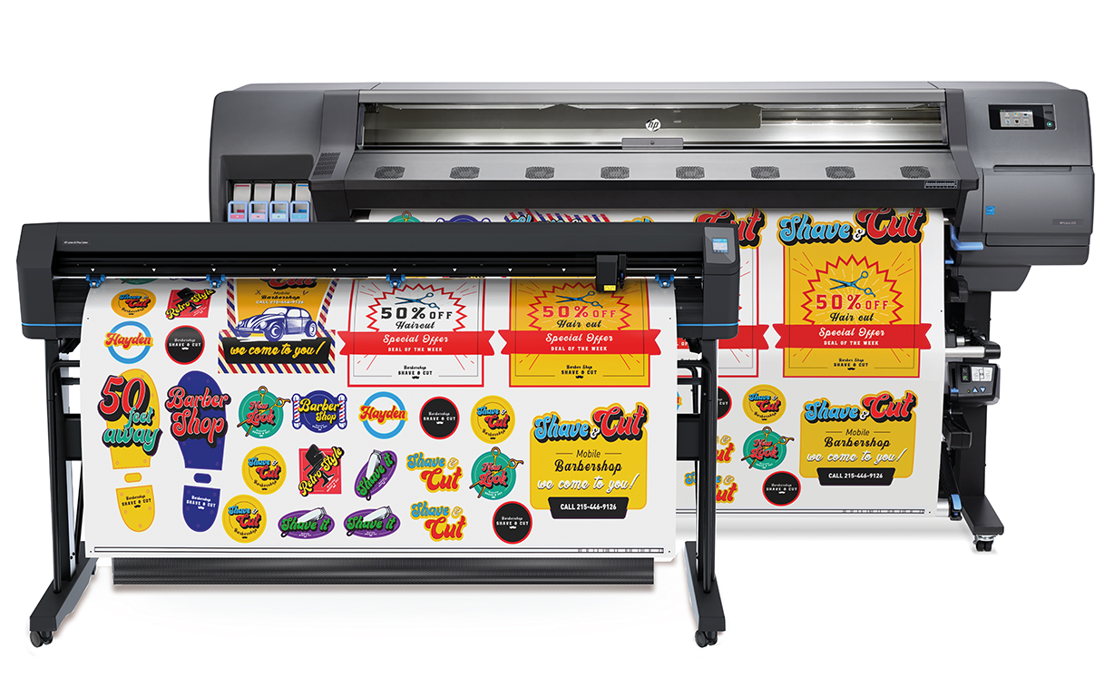 HP Latex 335 Print and Cut Plus Solution