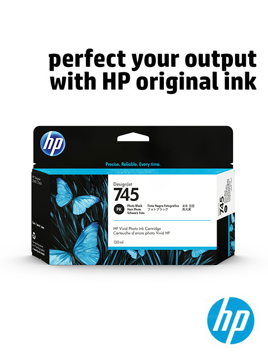 Perfect your output with HP original ink