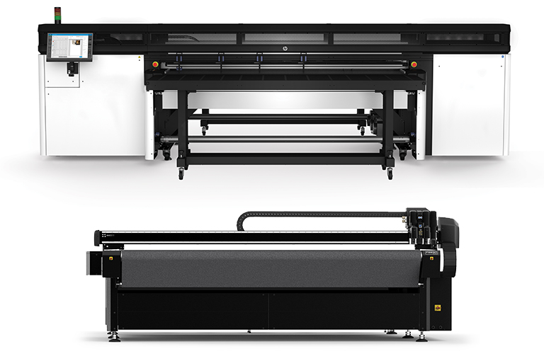 Summa F Series and HP Latex R Printer